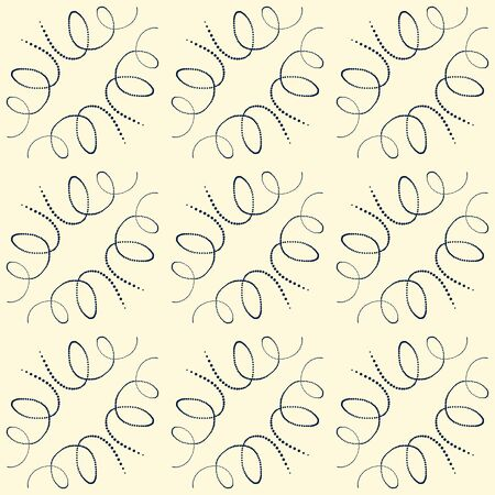 nifty: Black and white seamless pattern with scribbles of dots.Vector illustration. Illustration