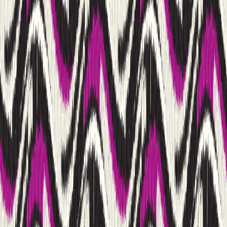 gobelin tapestry: Vinous and black seamless Ikat Pattern. Abstract background for textile design, wallpaper, surface textures, pattern fills,  wrapping paper.