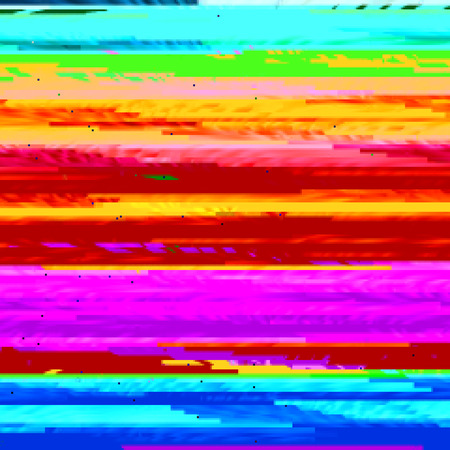 glitch: Background with colorful strips in style glitch
