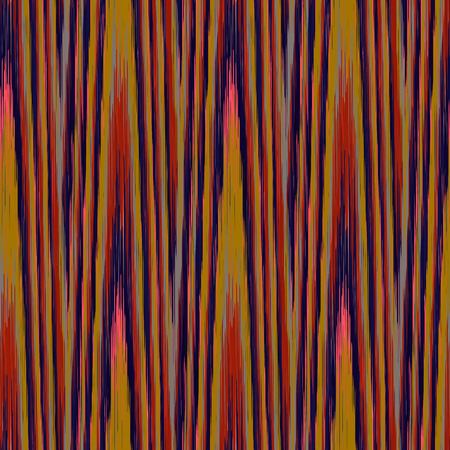 Dark seamless Ikat Pattern. Abstract  background for textile design, wallpaper, surface textures, wrapping paper.