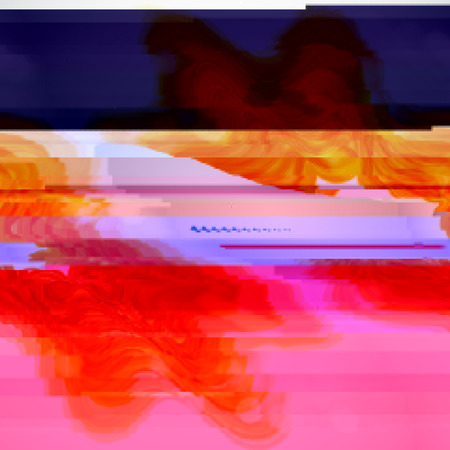 distortion: Blue and pink  background with light effects in style glitch- art. Vector illustration.