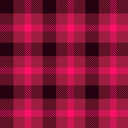 Tartan fabric texture. Seamless pattern. Vector illustration. Illustration