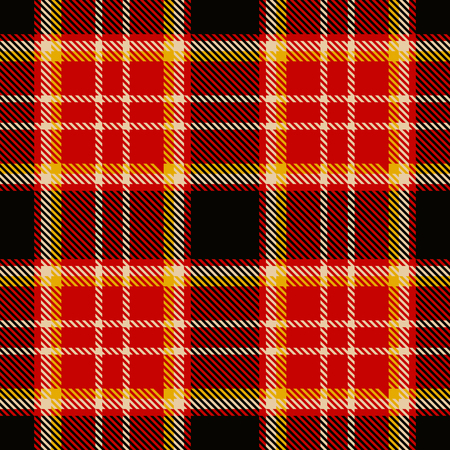 Blue tartan fabric texture. Seamless pattern. Vector illustration. Illustration
