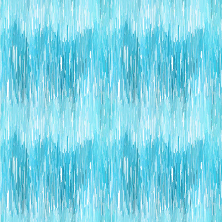 Seamless Ikat Pattern. Blue  background for textile design, wallpaper, surface textures, wrapping paper.