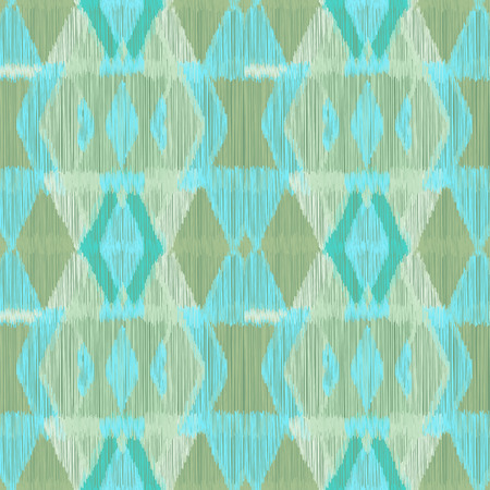 A Seamless Ikat Pattern. Abstract background for textile design, wallpaper, surface textures, wrapping paper. Illustration