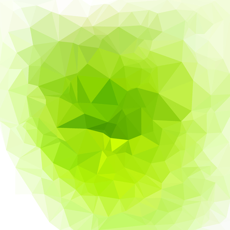 Bright polygonal background with light effects. Vector illustration.