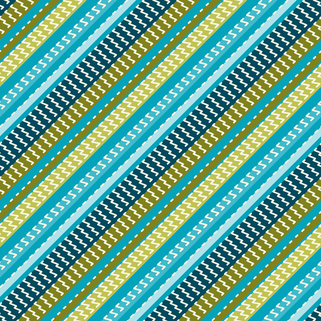 Seamless pattern with diagonal stripes. Vector illustration.