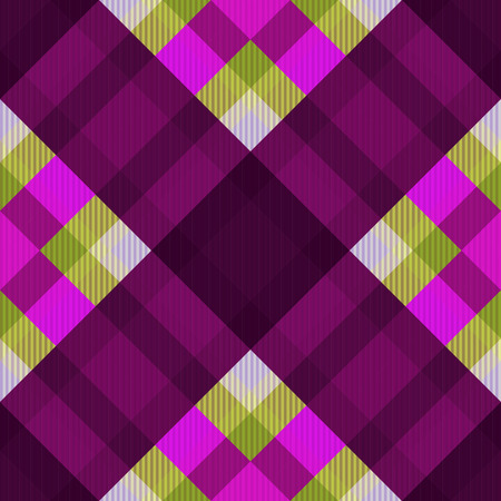 Tartan fabric texture. Seamless pattern. Vector illustration. 5