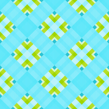 Tartan fabric texture. Seamless pattern. Vector illustration. 14 Illustration