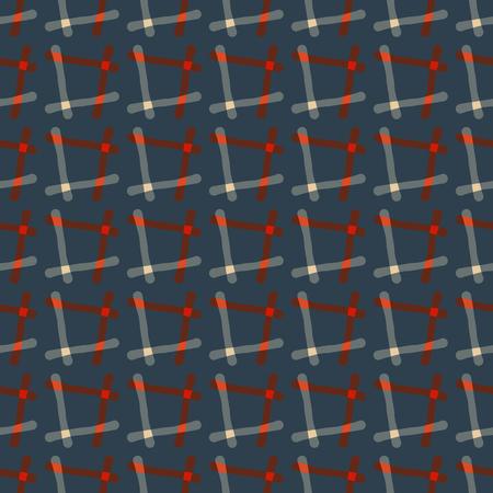 Seamless  pattern.  Simple geometric pattern. Vector illustration