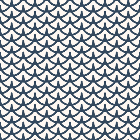 Black and white seamless  pattern.  Geometrical ornament .  Vector illustration
