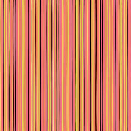 Modèle sans couture avec des rayures verticales de couleur orange. Illustration vectorielle. Vecteurs