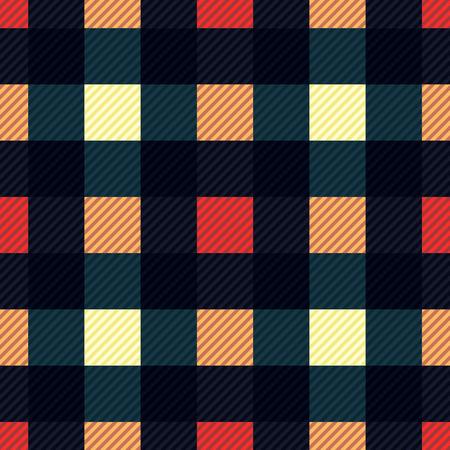 Tartan fabric texture. Seamless pattern. Vector illustration. Illusztráció