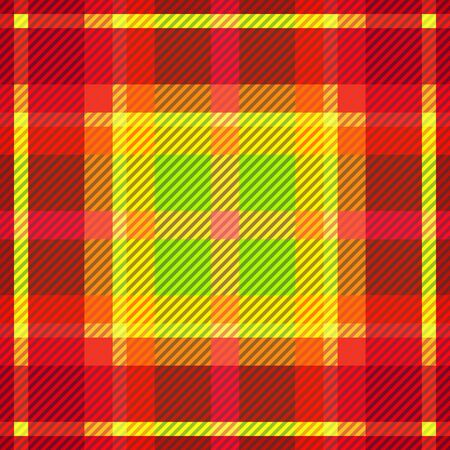 Tartan fabric texture. Seamless pattern. Vector illustration.  Ilustrace