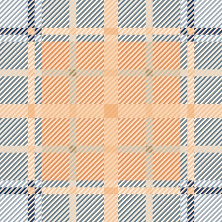 Tartan fabric texture. Seamless pattern. Vector illustration. Stok Fotoğraf - 133856039