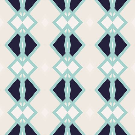Seamless pattern with arabesques in retro style. Vector illustration. Illustration