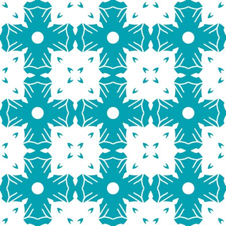 Seamless pattern with arabesques in retro style. Vector illustration. Stock Illustratie