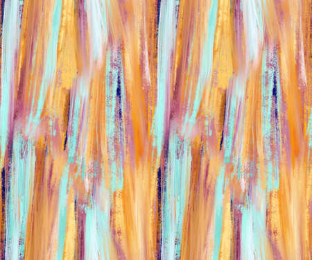 Abstract seamless pattern with acrylic painting. Hand-drawn illustration.