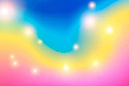 Multicolor blurred backdrop. Digital illustration. Vector