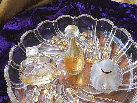 luxuries: Perfume bottles