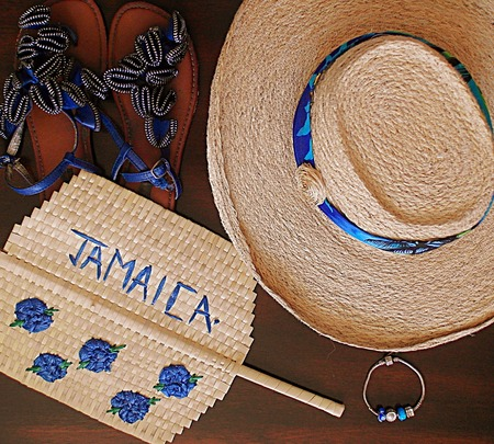 Summer accessories and shoes