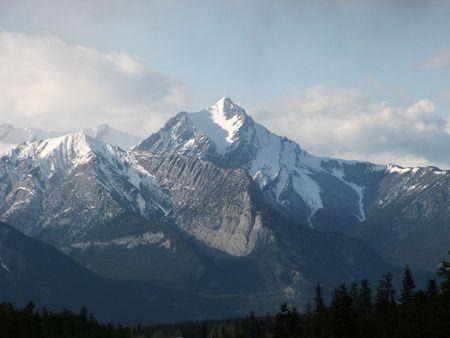 rocky mountains: Rocky Mountains, Jasper Alberta Stockfoto