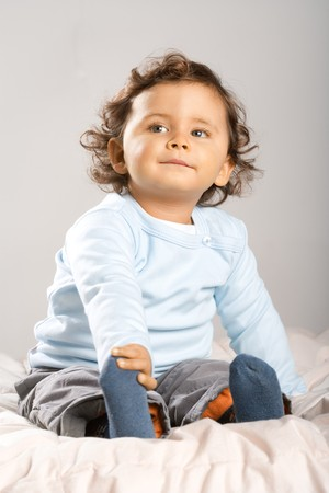 18 month old: 18 month old Toddler Stock Photo