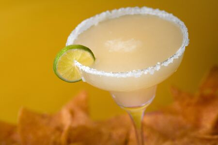 Tequila Margarita with nachos