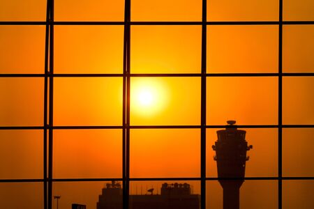Airport control tower Stock Photo - 7545878