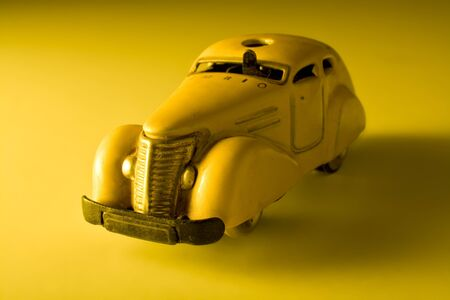 Old vintage toy car Stock Photo