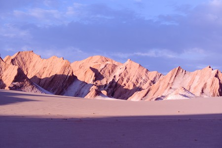 Rock formations at Valle de la Muerte (Death Valley), San Pedro de Atacama, Atacama Desert, Chile