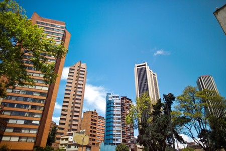 Financial District, Downtown, Bogota, Colombia, South America