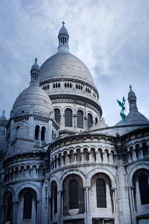 sacre: La Basilique du Sacre Coeur, Paris, France