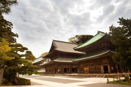 Kenchoji temple, Kamakura, Kanagawa Prefecture, Greater Tokyo Area, Japan Stock Photo