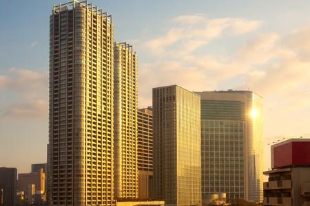 honshu: City skyline, Tokyo, Kanto Region, Honshu, Japan