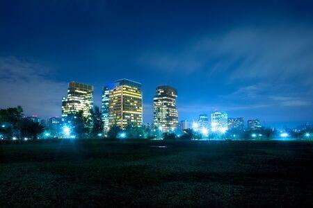 amerique du sud: B�timents modernes � Nueva Las Condes, Santiago, au Chili, en Am�rique du Sud Banque d'images