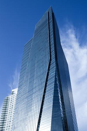 Skyscraper at Brickell district, Miami, Florida, USA