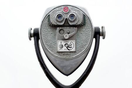 monedas antiguas: Funcionan con monedas binoculares en blanco