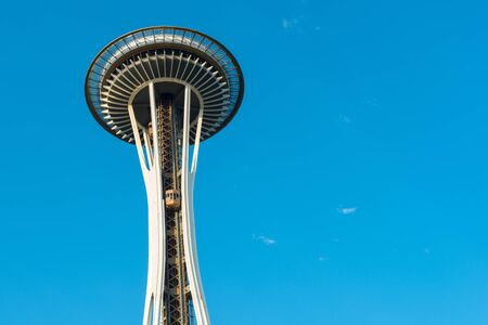 space needle: Space Needle at Seattle Center, Seattle, Washington State, USA