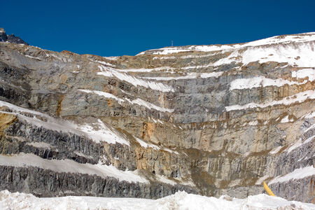 open pit: Open Pit Copper Mine in Chile