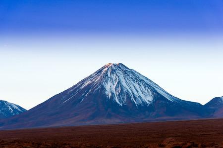 destination scenics: Licancabur volcano on the Atacama Desert, Northern Chile