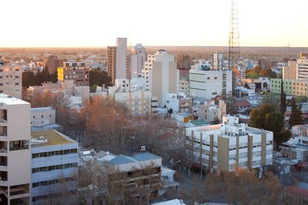 Neuquen, Provincia de Neuquen, Argentina - September 11, 2010: The city of Neuquen, the capital of the province with the same name, is the gate to the Argentinian Patagonia.