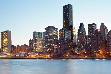 Skyline of midtown, Manhattan, New York City, NY, USA