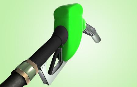 Rendering 3D di una pompa di benzina Archivio Fotografico - 97391277