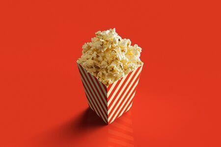3D rendering of a pack of Pop Corn