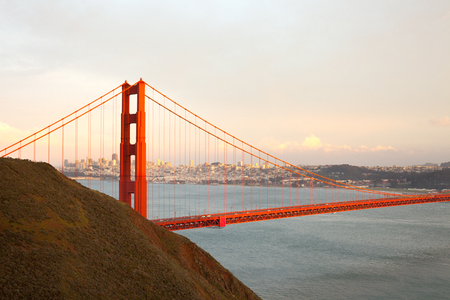 The Golden Gate Bridge in San Francisco, California, USA Imagens