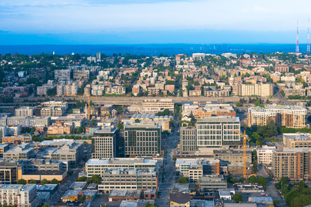 Downtown and Capitol Hill district, Seattle, Washington State, USA