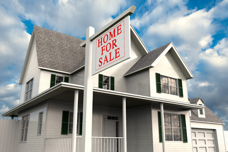 3D rendering  of a home for sale