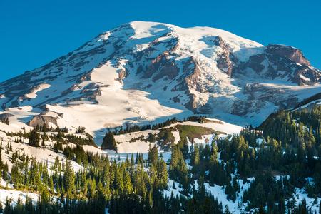 Paradise area at Mount Rainier National Park, Washington State, USA Stock Photo