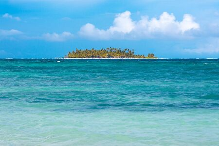 Johnny Cay on the reef of San Andres Island, Colombia, South America